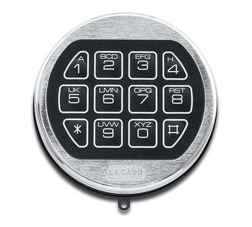 lagard basic satin keypad and lock. Black Bedroom Furniture Sets. Home Design Ideas