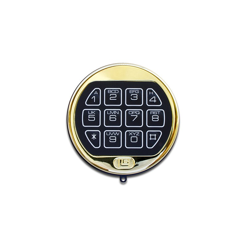 lagard basic brass keypad and lock. Black Bedroom Furniture Sets. Home Design Ideas